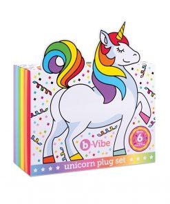 B-vibe Unicorn 6 Pc Plug Set